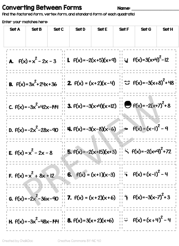 ChalkDoc | The easier way to make excellent math worksheets